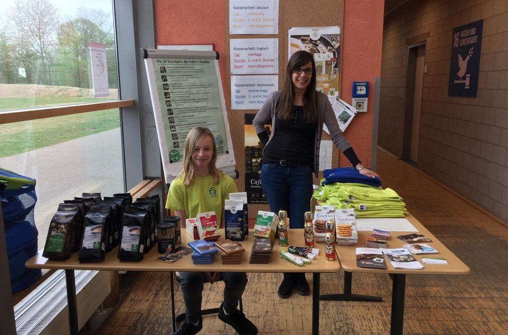 Fairtrade-Stand startet durch!