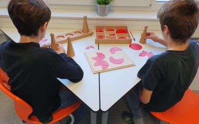 Montessori Material im Mathematik Unterricht
