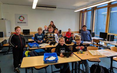 LEGO Kooperation der Gesamtschule Geldern mit der St. Antonius Grundschule Hartefeld