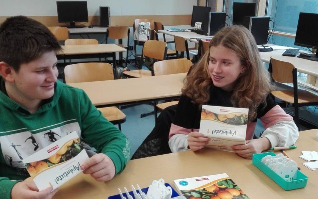 Spanisch Wortschatztraining in den Mittagspausen