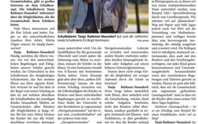 Gesamtschule Geldern in den Niederrhein Nachrichten vom 08.01.20