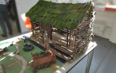 Projekt: Hütten in der Steinzeit