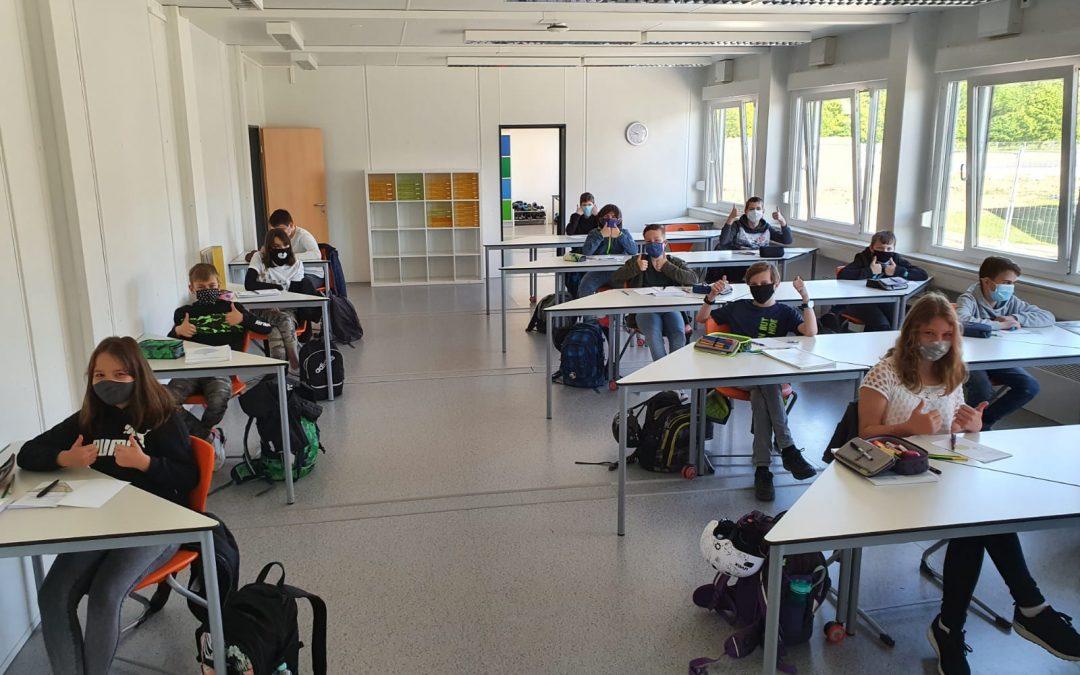 Reibungsloser Schulstart an der Gesamtschule Geldern