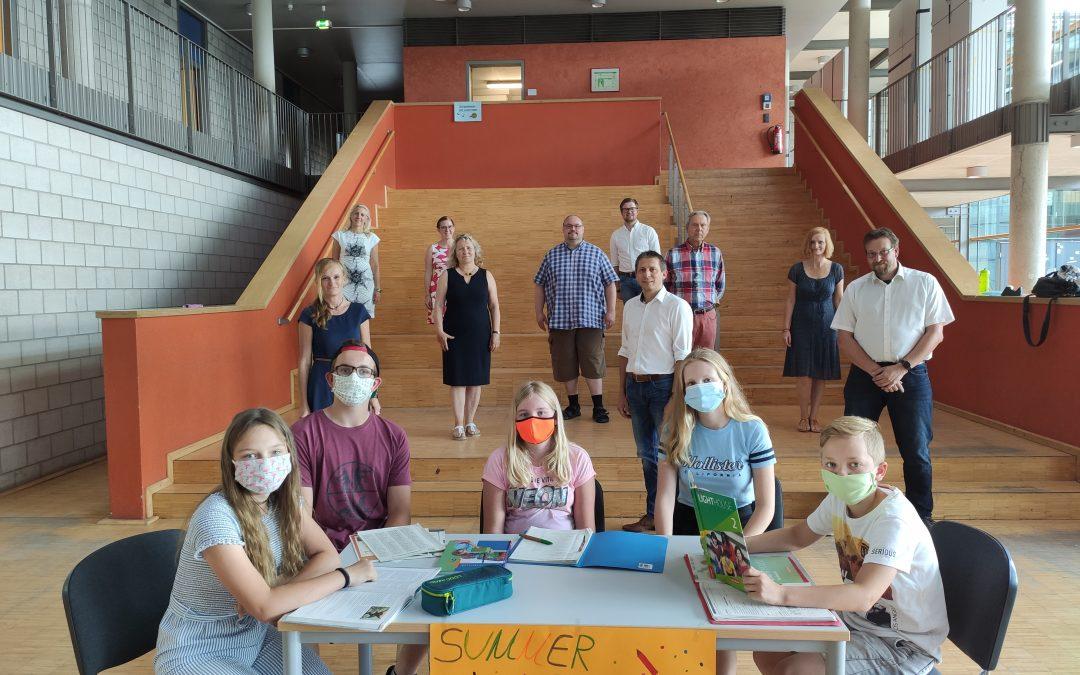 SUMMER – SCHOOL 2020 Ein Gemeinschaftsprojekt der Gesamtschule der Stadt Geldern und der Realschule An der Fleuth
