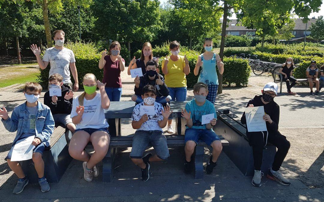 Frühjahrsputz im Kreis Kleve – 700€ für unsere Schule