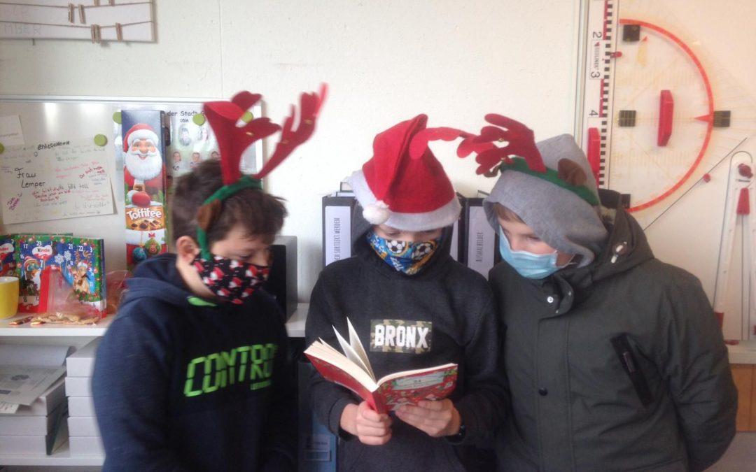 Lesekompetenz fördern… aber bitte weihnachtlich!