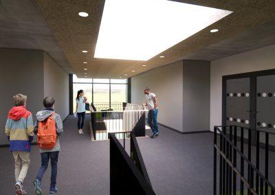 Rendering 3 Treppenhaus OG