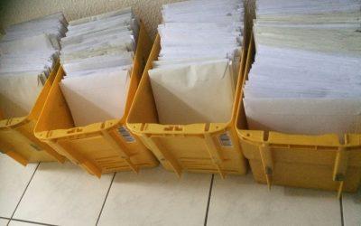 Zeugnisse und Material über den Postweg