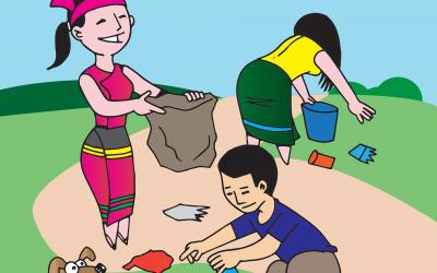 Mach mit beim Frühjahrsputz: Die Schülerinnen und Schüler der Gesamtschule der Stadt Geldern rufen zum Frühjahrsputz auf!