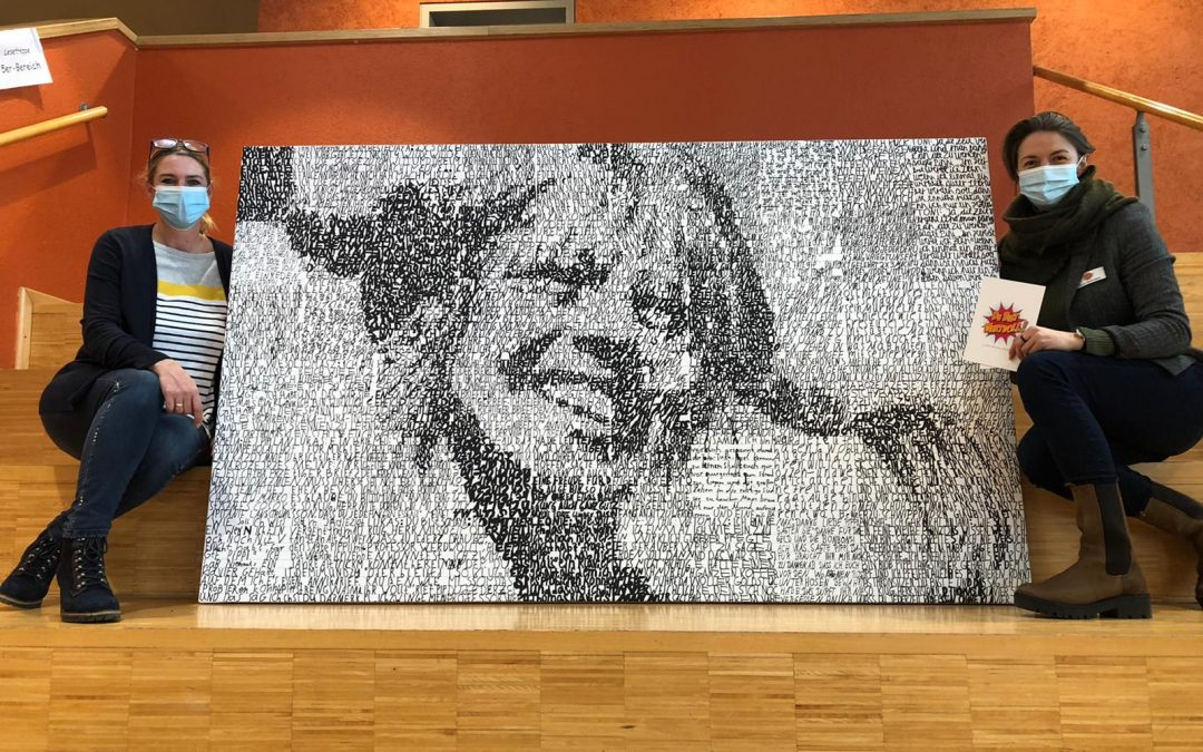 """Pippi-SAXA macht Schule – Ein Kunstprojekt der Gesamtschule der Stadt Geldern in Kooperation mit der """"DU BIST WERTVOLL STIFTUNG"""""""