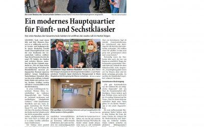 Artikel aus den NN zum Neubau